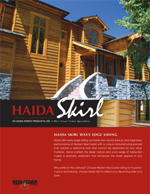 Haida Skirl Brochure